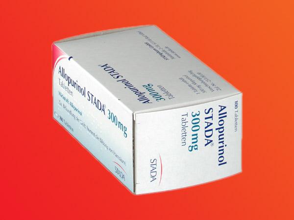 Hình ảnh hộp Allopurinol Stada
