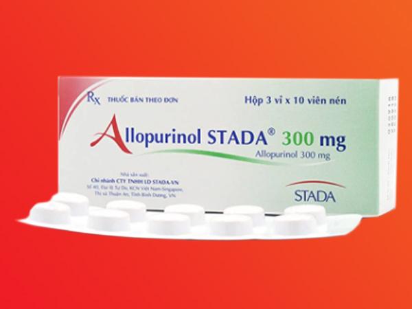 Hình ảnh Allopurinol Stada mặt trước