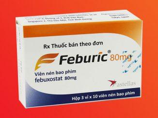 Thuốc Feburic chứa hoạt chất Febuxostat