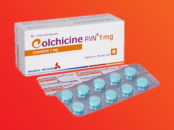 Thuốc Colchicine được nhiều bác sĩ chỉ định trị bệnh gout