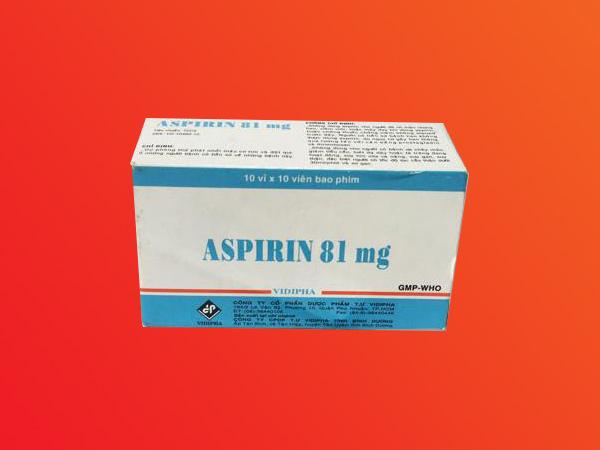 Không nên dùng Aspirin liều cao để giảm đau do gout